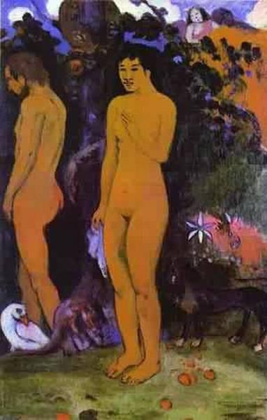 Adam and eve 1902 art museum ordrupgard copenhagen denmar